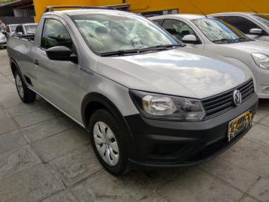 VOLKSWAGEN Saveiro Robust 1.6 Total Flex 8V PRATA Manual Flex 2017