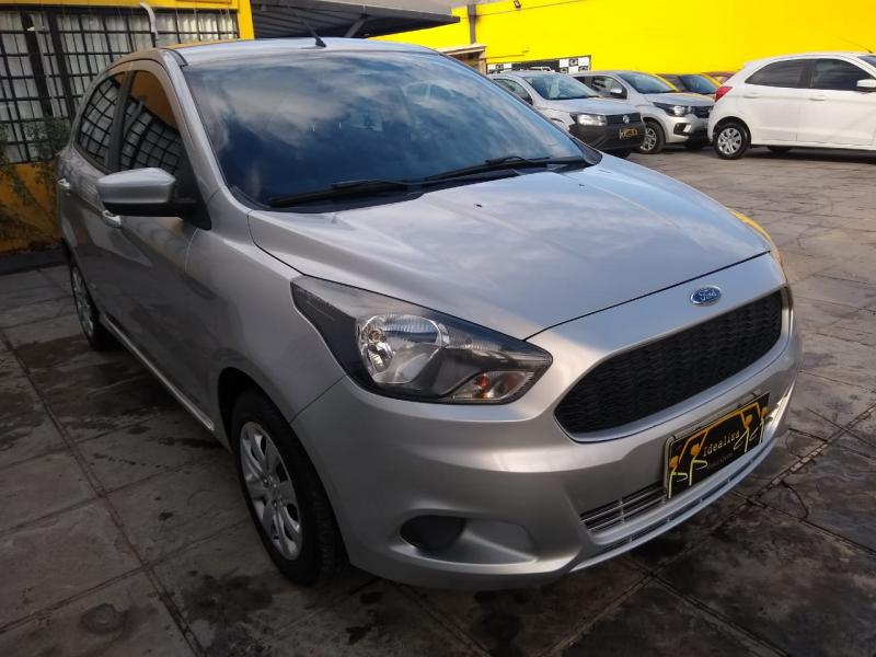 FORD Ka SE 1.5 16V Flex 5p PRATA Manual Flex 2016