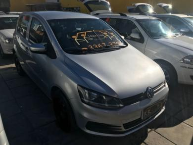 VOLKSWAGEN Fox Trendline 1.6 Flex 8V 5p PRATA Manual Flex 2015