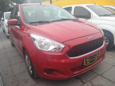 FORD Ka 1.0 SE/SE Plus TiVCT Flex 5p VERMELHA Manual Flex 2018