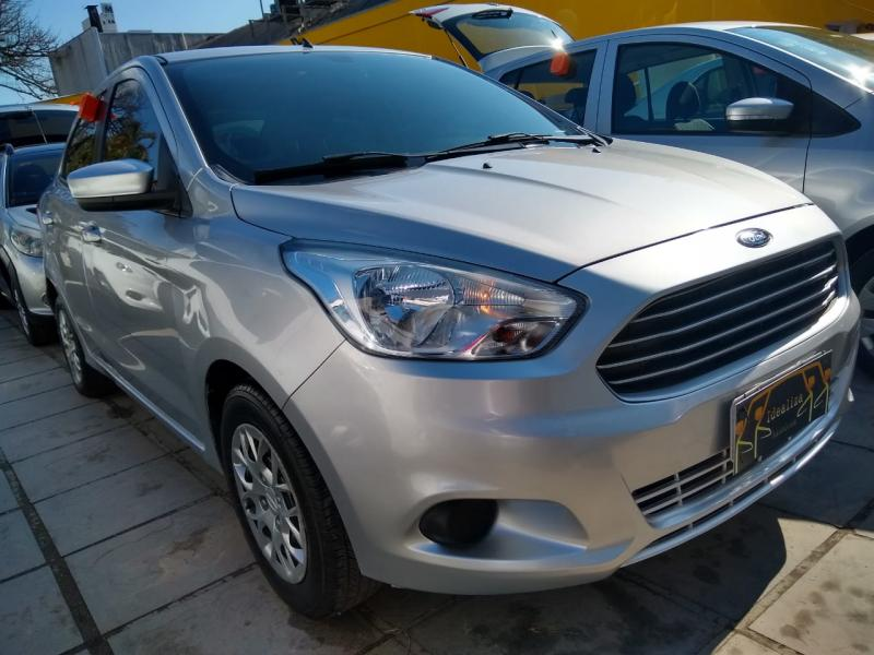 FORD Ka+ Sedan 1.0 SEL TiCVT Flex 4p PRATA Manual Flex 2018